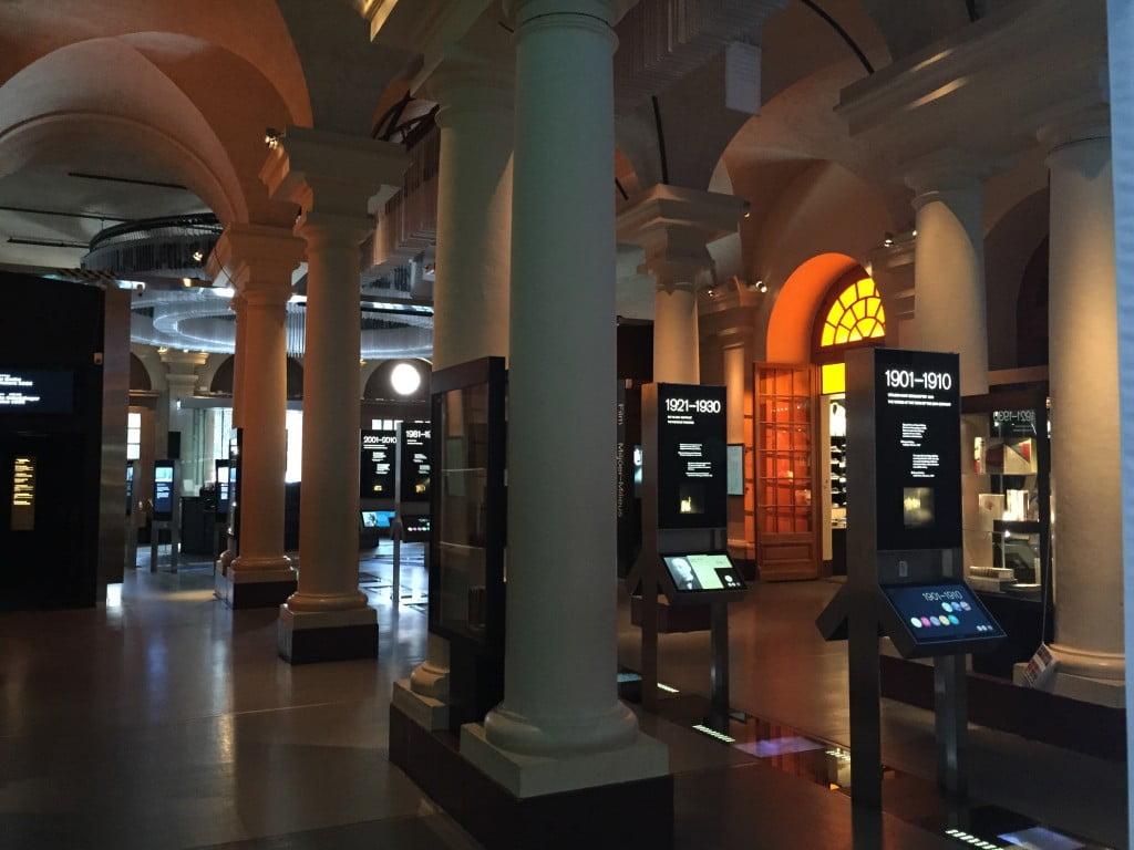 ノーベル博物館内部