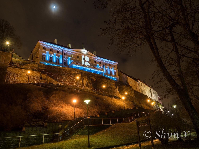 エストニア夜の治安