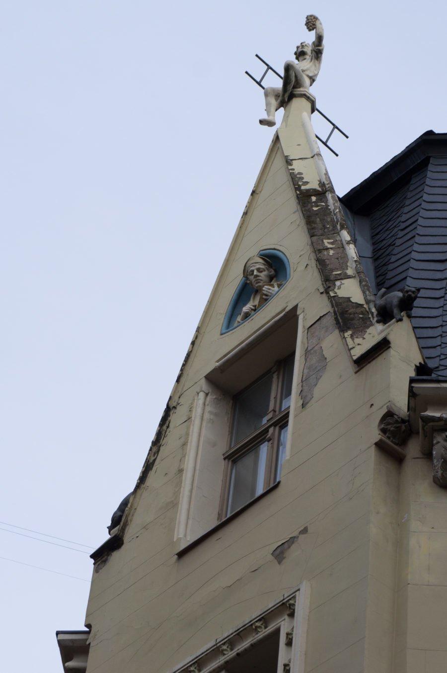 世界遺産リガ旧市街の建築