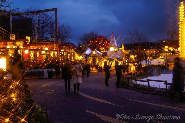 コペンハーゲンの夜景