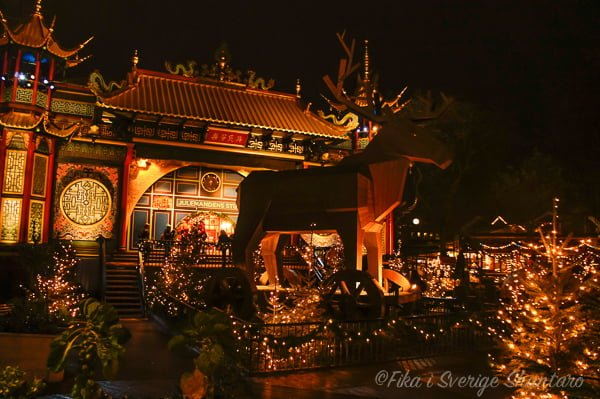 チボリ公園中華風建築