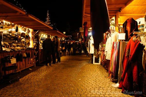 コペンハーゲンのクリスマスマーケット