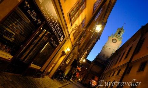 スウェーデンの夜の治安