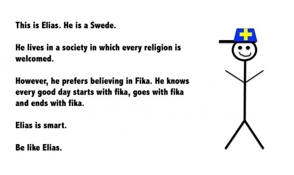 スウェーデンのフィカ文化