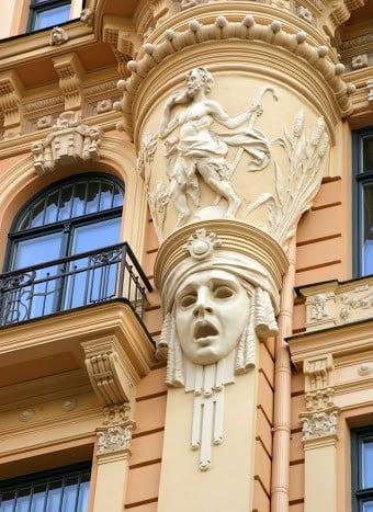 ラトビア建築