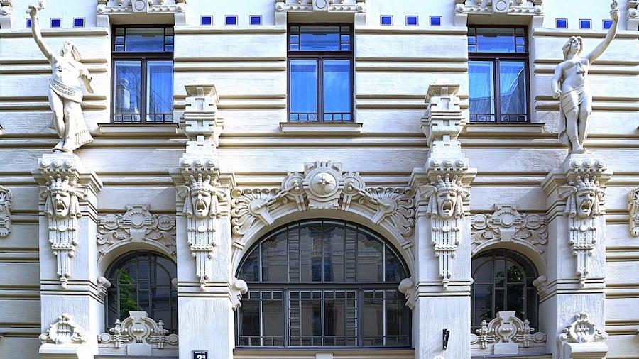 ラトビアの建築