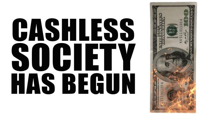 キャッシュレス社会