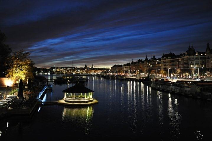スウェーデンの夜