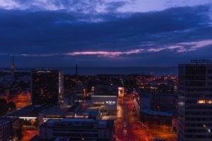 エストニアタリンの夜