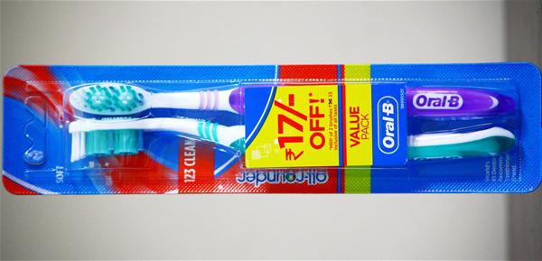 オーラルBの歯ブラシ