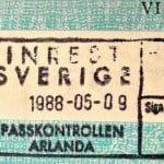 スウェーデン学生ビザ