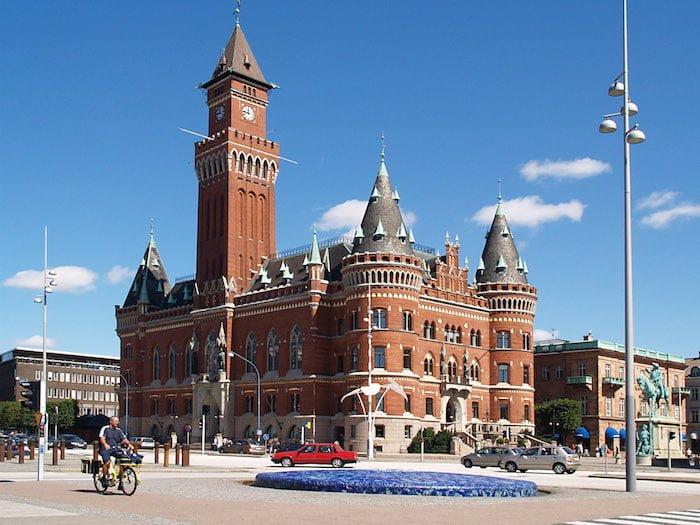 ヘルシンボリの市庁舎