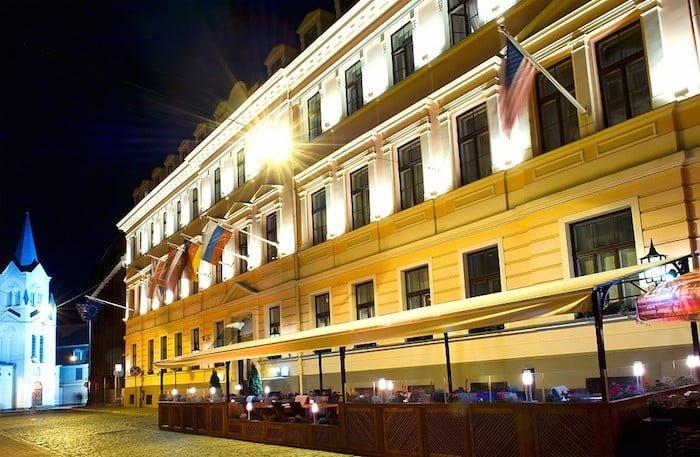 リガの歴史地区内のホテル
