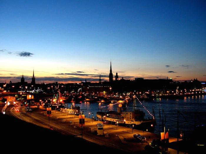 スウェーデンの白夜