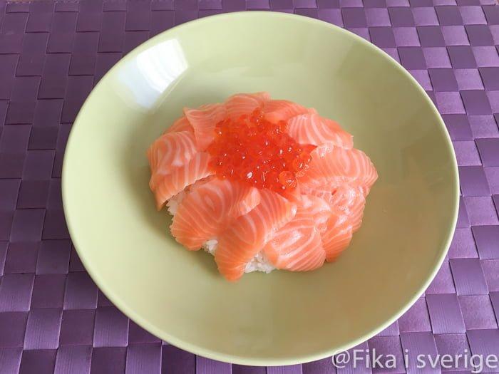 鮭イクラ丼