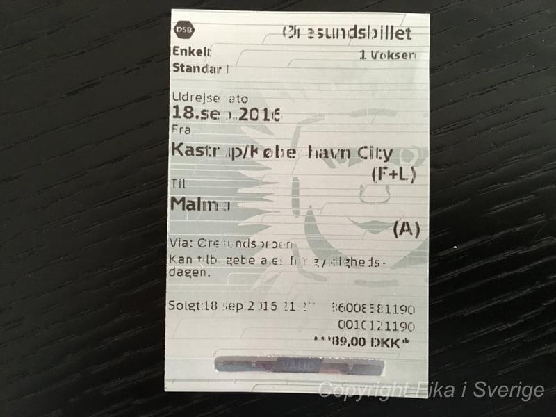 DSB切符