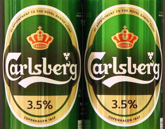 Carlsberg 3.5% (fronts)