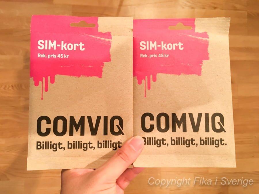 COMVIQ SIMカード