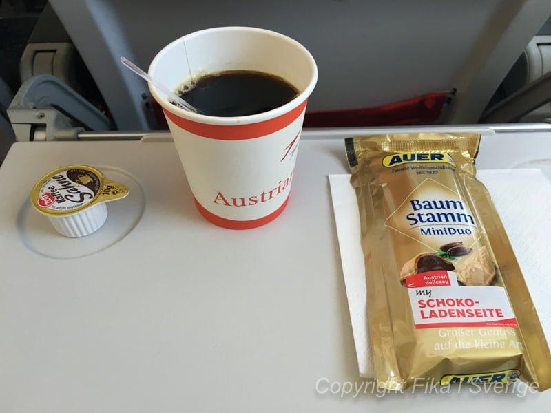 オーストリア航空搭乗レビュー