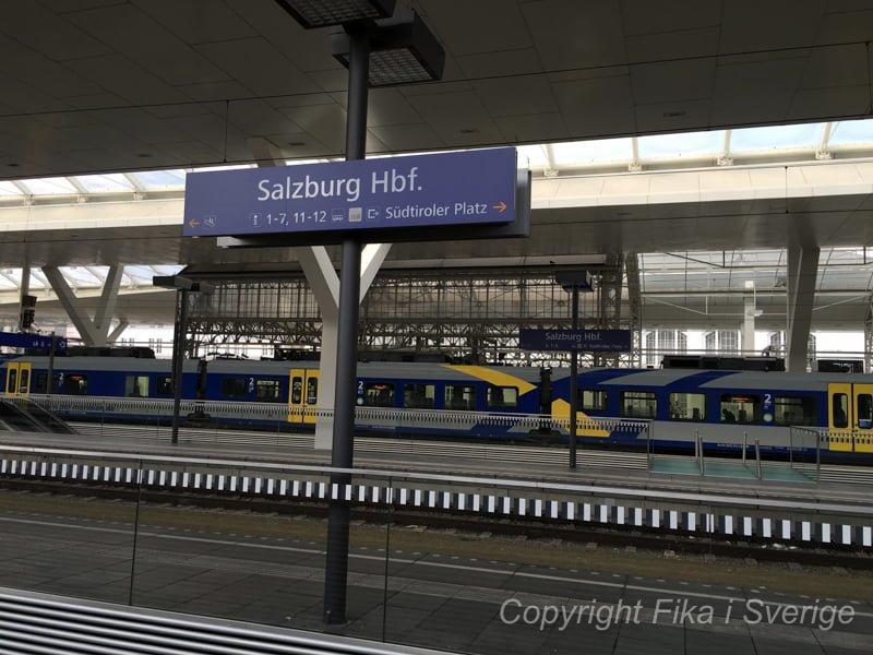 ザルツブルグへのアクセス方法