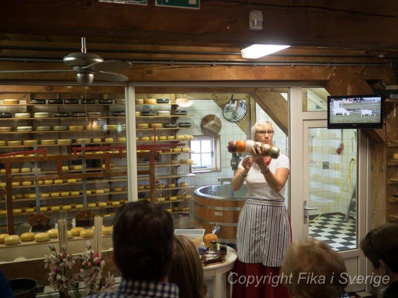 ザーンセスカンスのチーズ工場