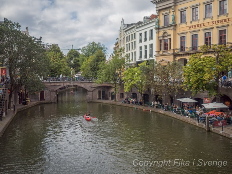 ユトレヒトの運河