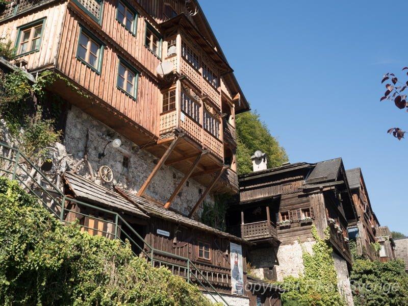 ハルシュタットの家屋