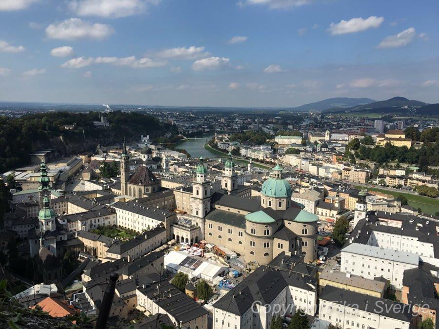 ザルツブルグの景色