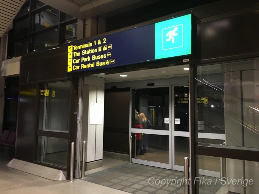 マンチェスター空港駅