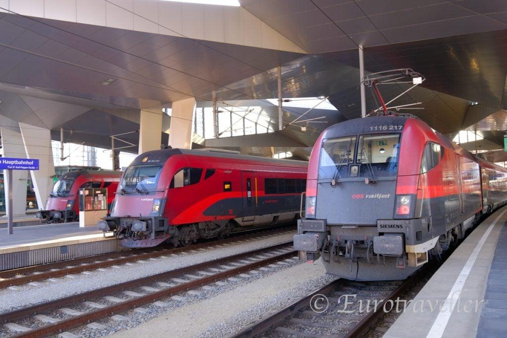 オーストリア鉄道乗り方