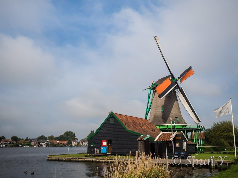 アムステルダム日帰り風車村