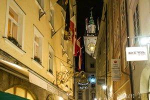 ザルツブルグの夜歩き