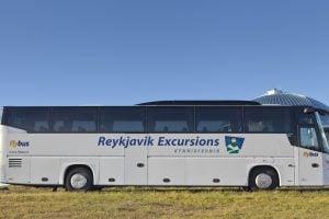 アイスランドの空港バス
