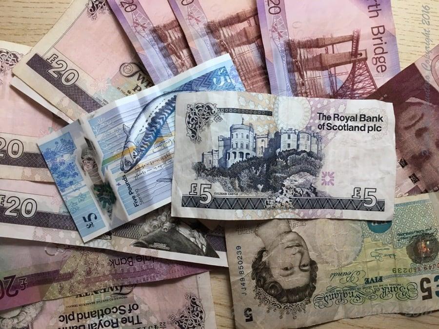 スコットランド紙幣