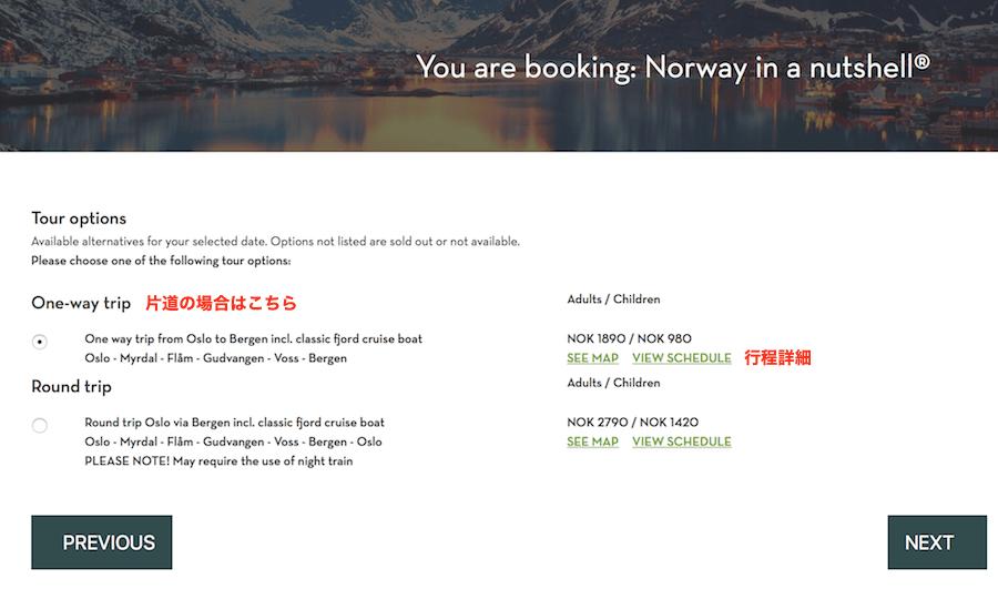 ノルウェーフィヨルドツアー