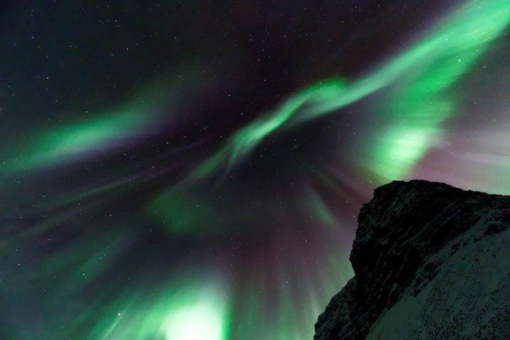 オーロラはアイスランドがおすすめ