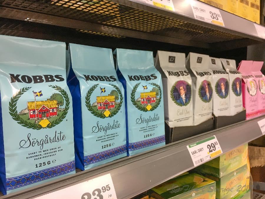 スウェーデンの紅茶