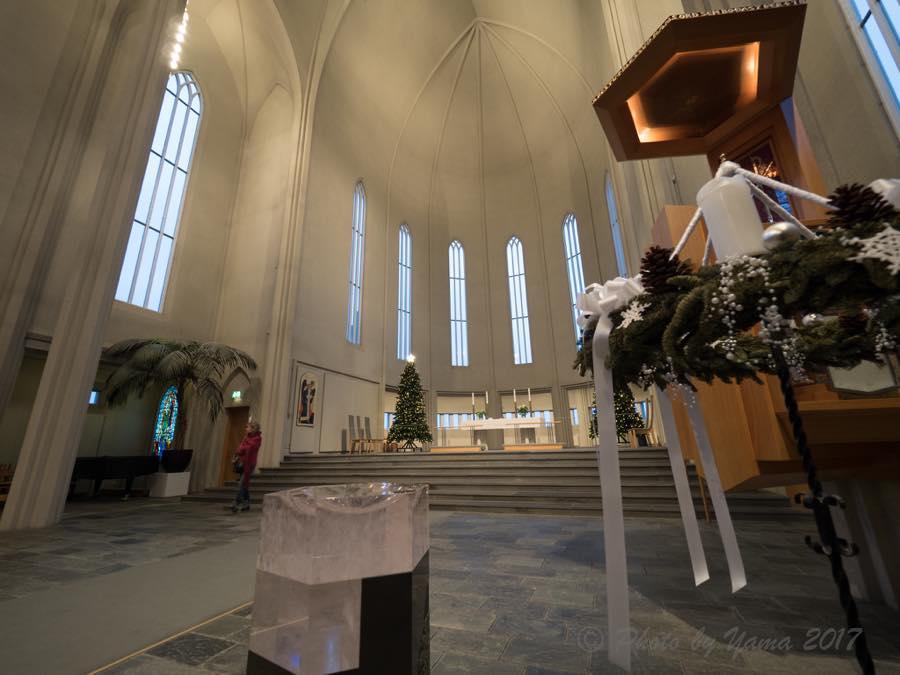 グルントヴィークス教会の祭壇