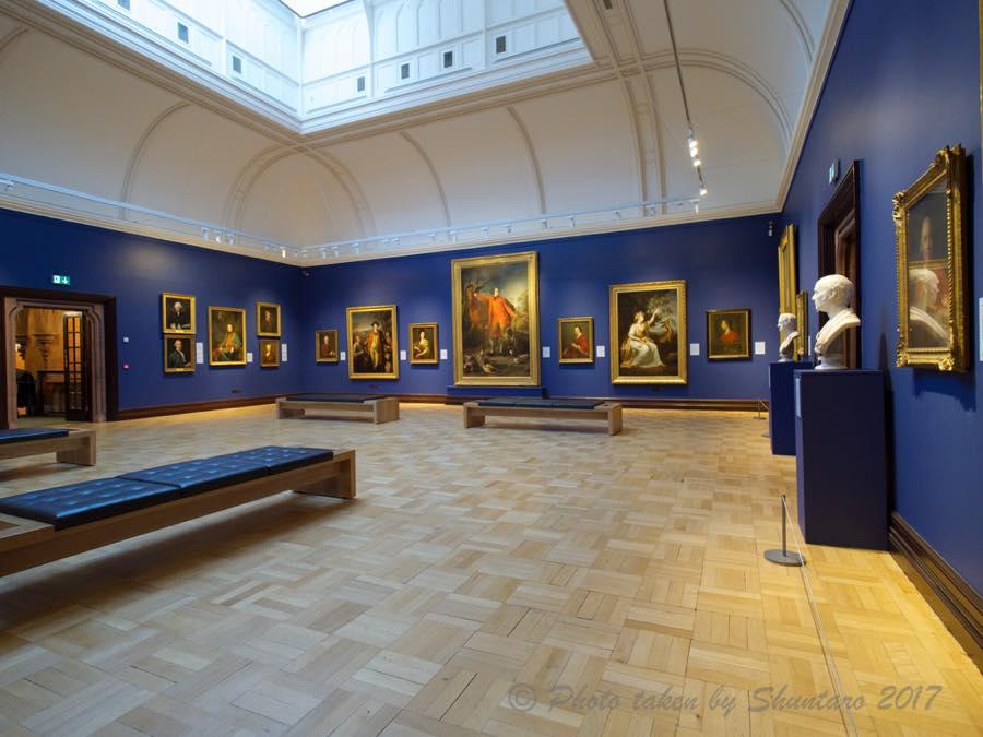 エディンバラの美術館