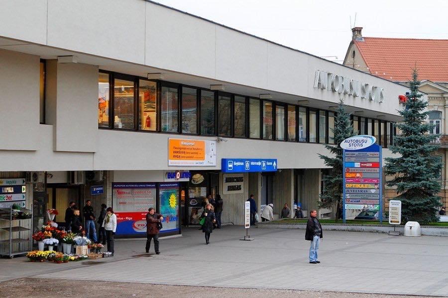 ヴィリニュスバスステーション