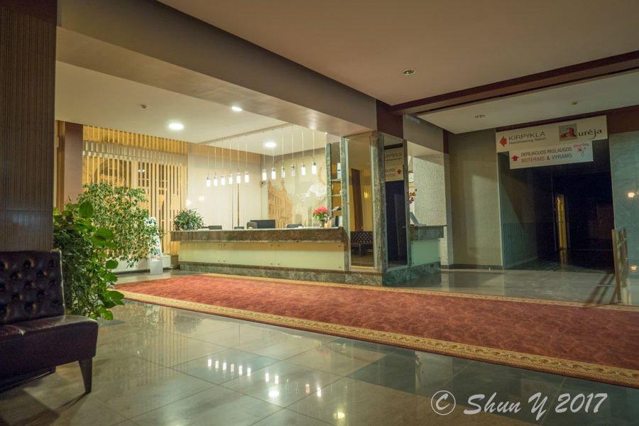 シャウレイのホテル