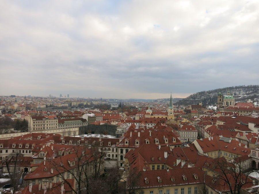 プラハの眺め