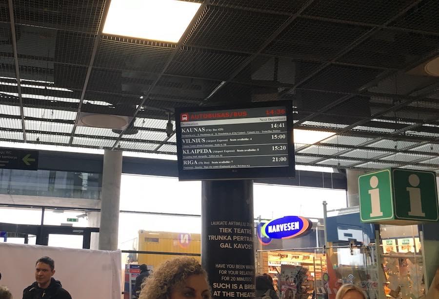 カウナス国際空港アクセス