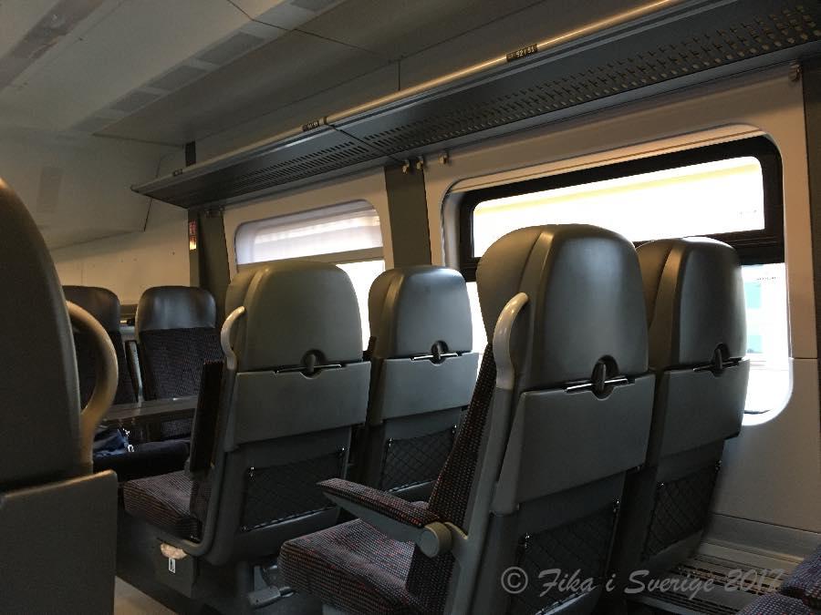 ヴィリュニュス行き電車