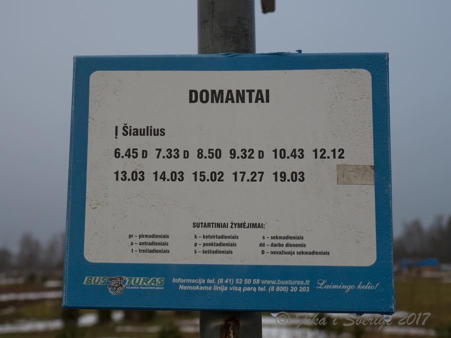 ドマンタイ時刻表