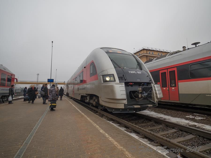 ヴィリニュス行列車