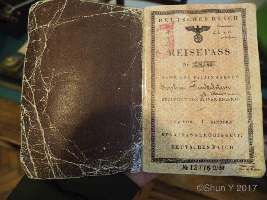 ユダヤ人のパスポート