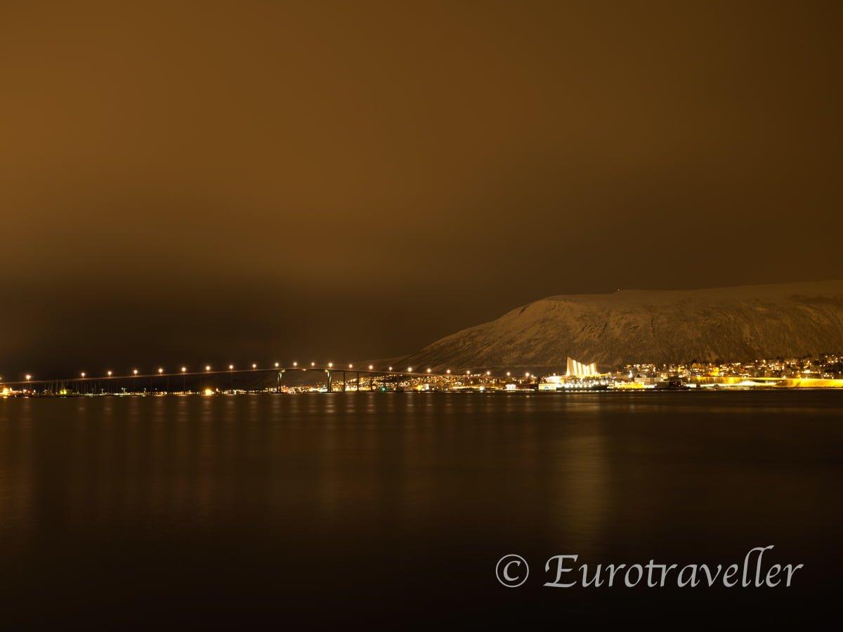 トロムソの夜景