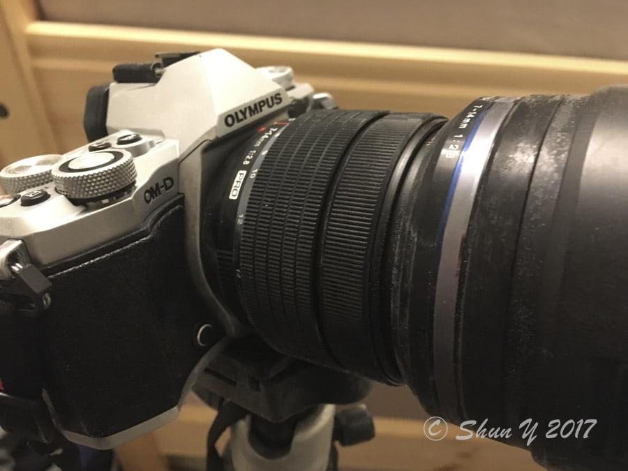 カメラ凍結