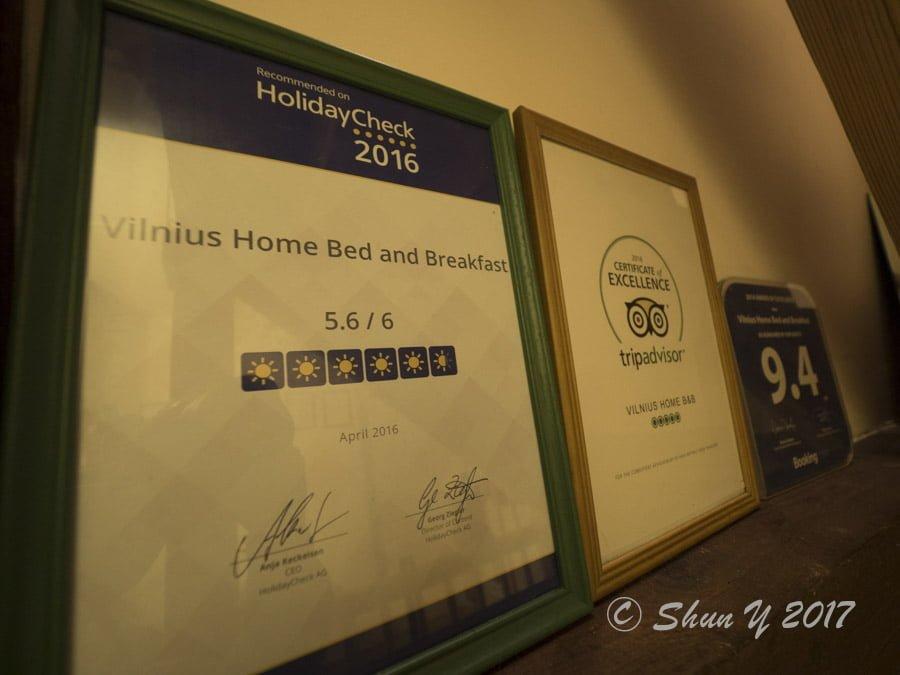 リトアニアのオススメホテル